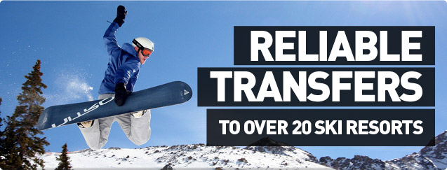 Reliable Transfers To Over 20 Ski Resorts