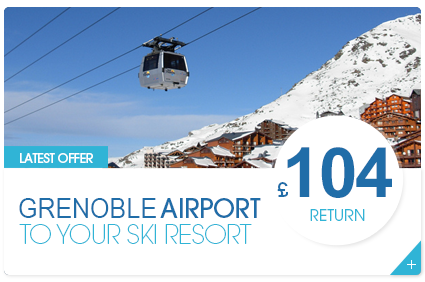 Chambery Airport to Your Ski Resort £75 Return