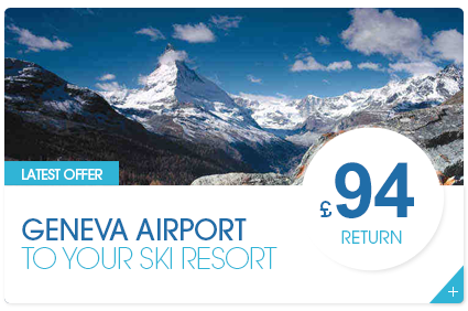 Geneva Airport to Your Ski Resort £82 Return