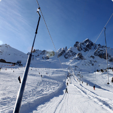 Courchevel Drag Lift