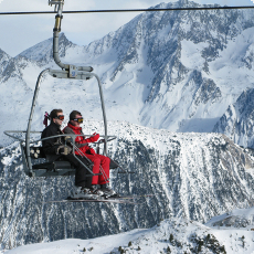 Courchevel Ski Lift