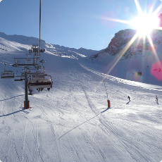 Val D'Isere Ski Run