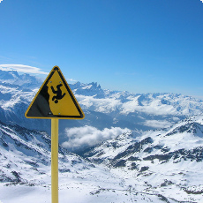 Val Thorens Danger Of Falling