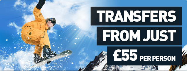 Transfers From Just £54 Per Person